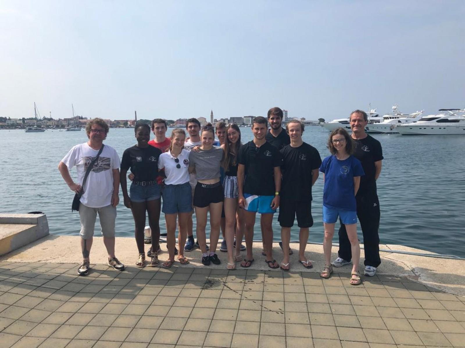 Wettkampfteam Lyss/Aarberg in Kroatien