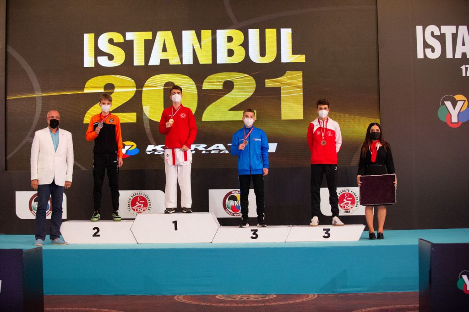 Théo Karlen, YL Istanbul 2021